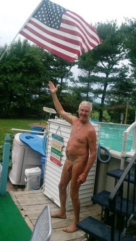 Martin Striegel of NFNC nudist club.